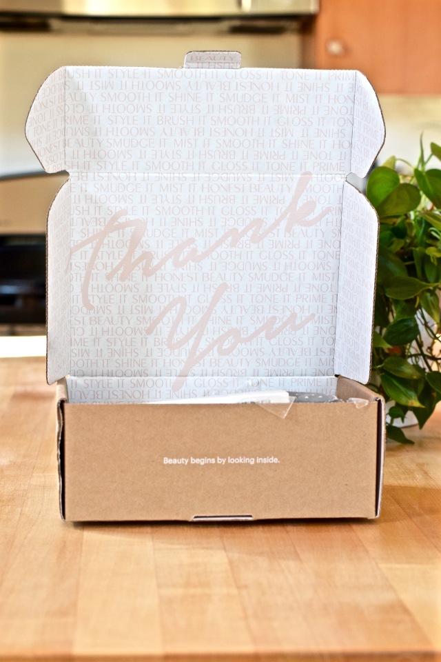 Honest Beauty Box Inside