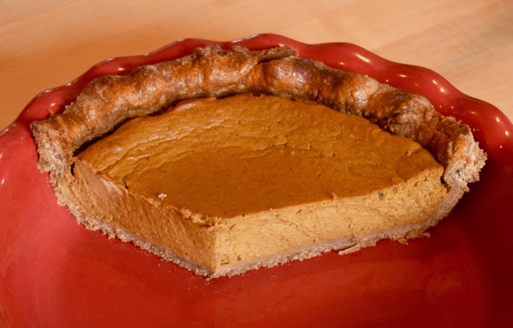 Pumpkin Pie Mostly Gone | Land of Laurel