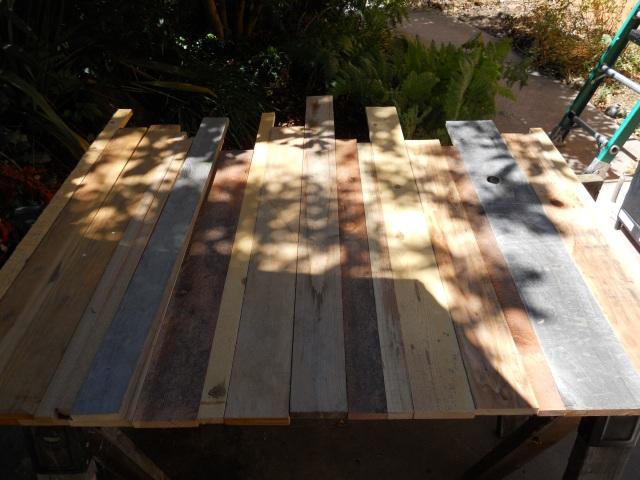 Scrap Wood Headboard | Land of Laurel