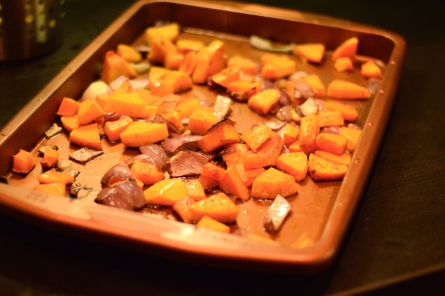 Butternut Squash and Red Onion | Land of Laurel