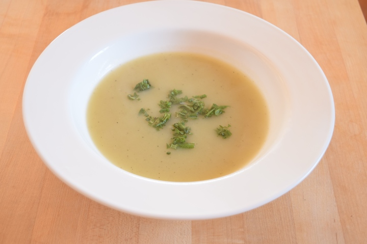 Potato Leek Soup | Land of Laurel