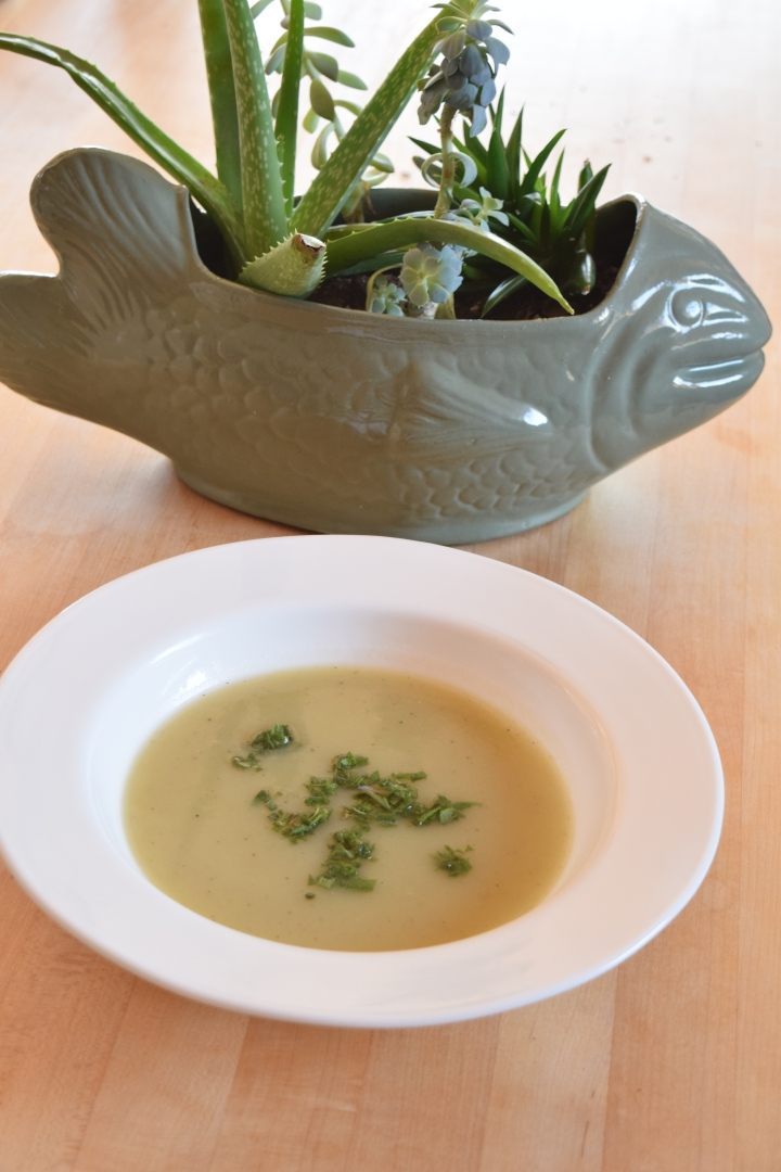 Potato Leek Soup and Fred | Land of Laurel