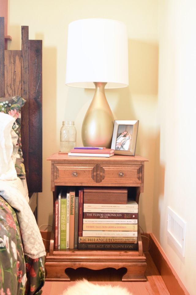 New Nightstands with Books | Land of Laurel