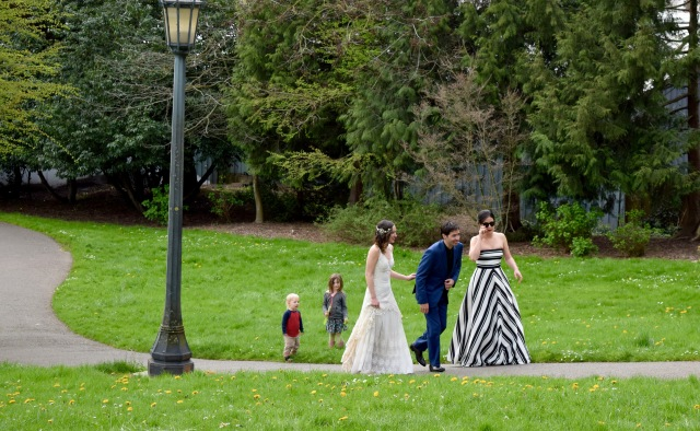 Wedding Under the St. John's Bridge | Land of Laurel