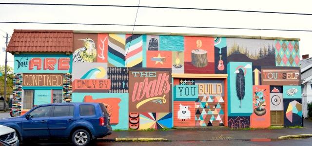 Mural Wall | Land of Laurel