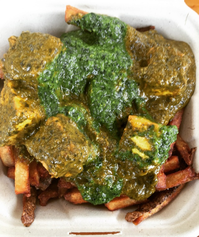 Palak Paneer Fries | Land of Laurel