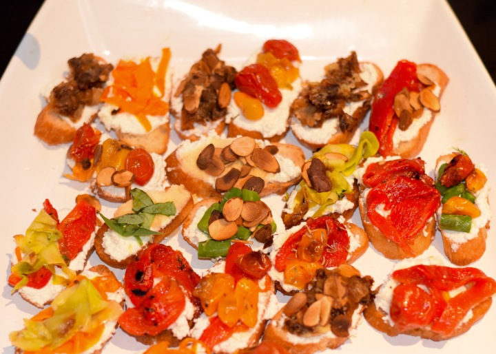 Colorful Crostini | Land of Laurel