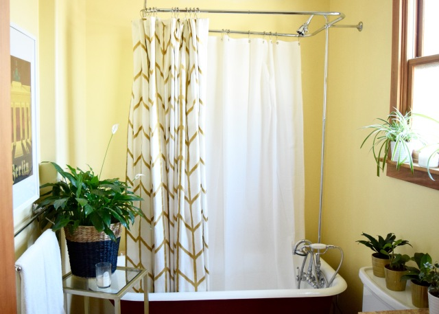 Polyester Shower Curtain | Land of Laurel