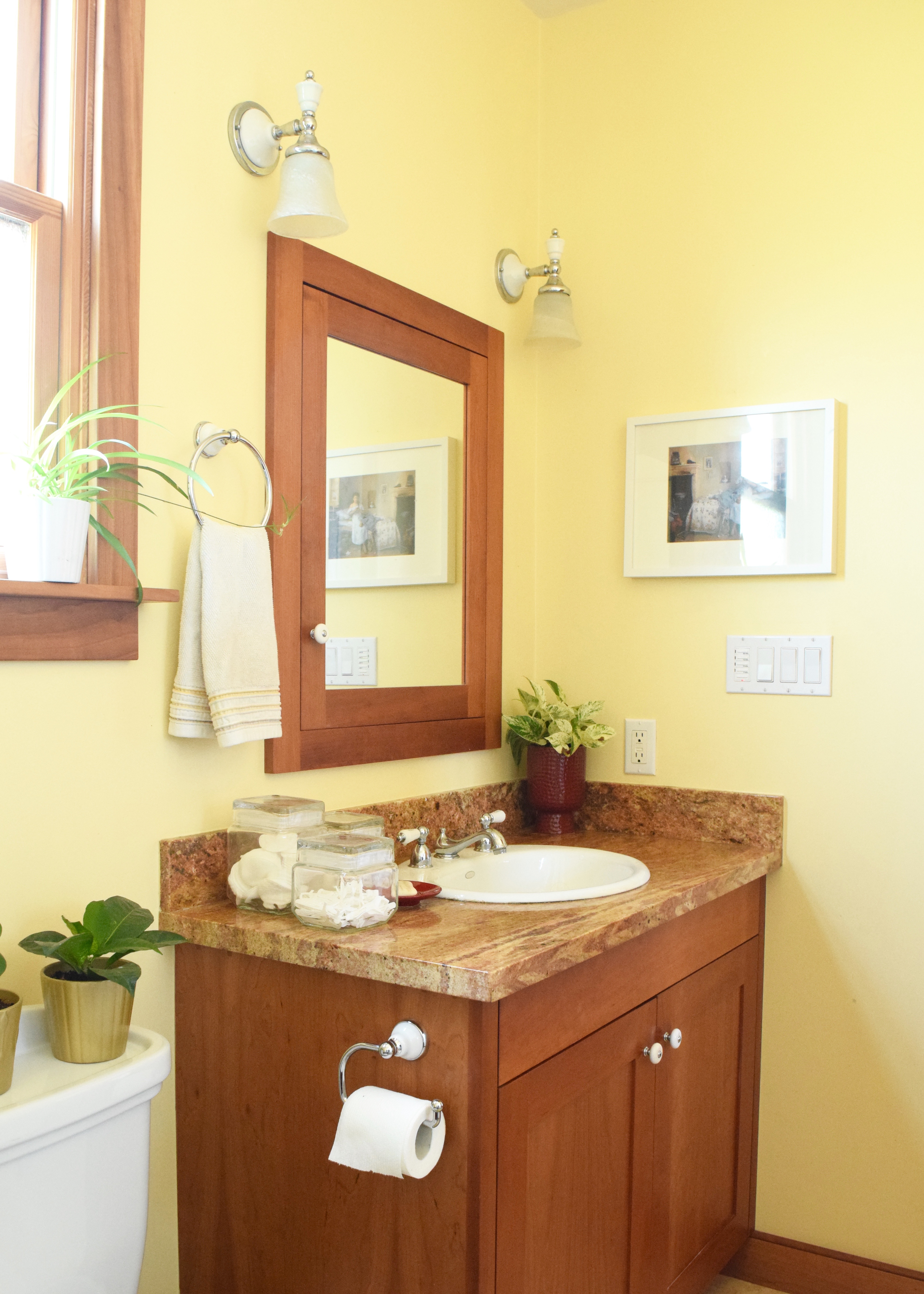 Bungalow Bathroom Afters | Land of Laurel