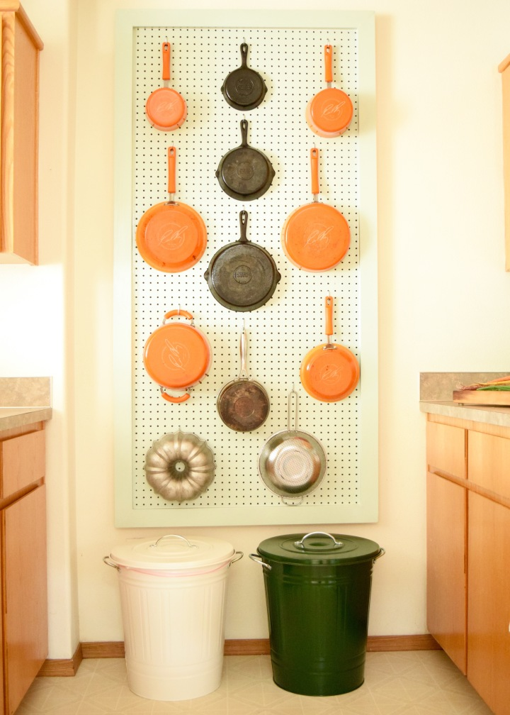Kitchen Pegboard | Land of Laurel