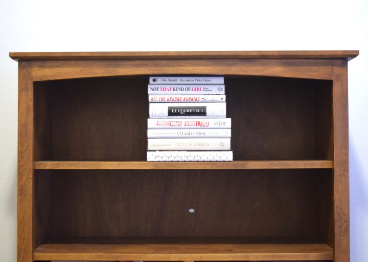 Styling a Bookshelf with Actual Books | Land of Laurel