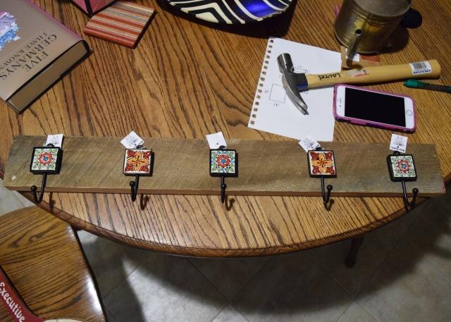 DIY Coat Rack | Land of Laurel