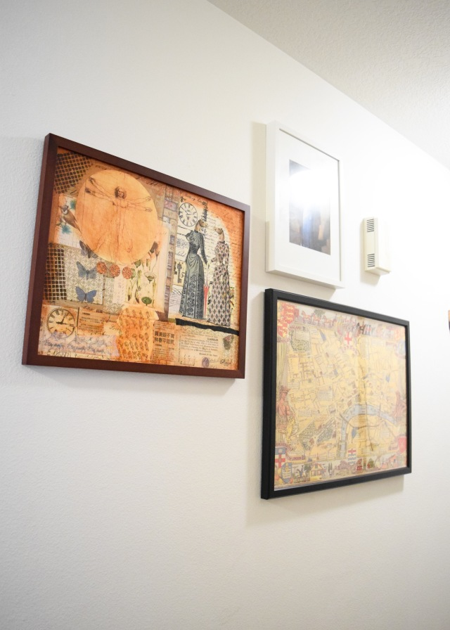 Entry Gallery Wall | Land of Laurel