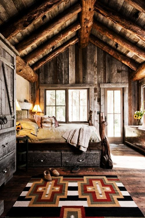 Rustic Bedroom | Land of Laurel