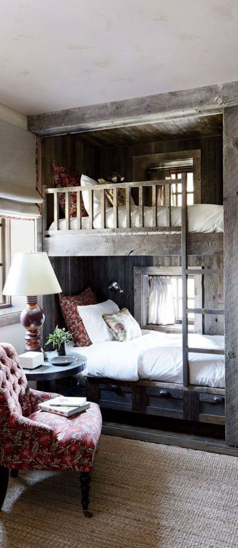 Rustic Bunk Room | Land of Laurel