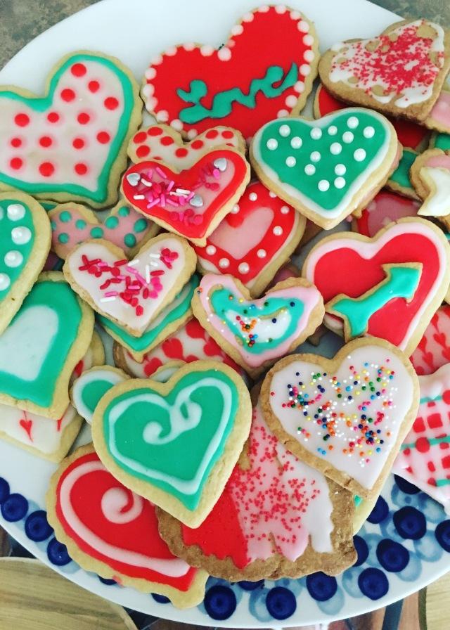 Valentine's Cookies | Land of Laurel