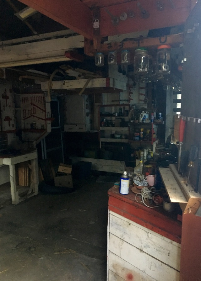 Garage Before | Land of Laurel