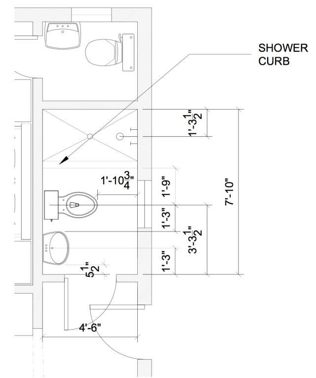 New Bathroom Layout | Land of Laurel