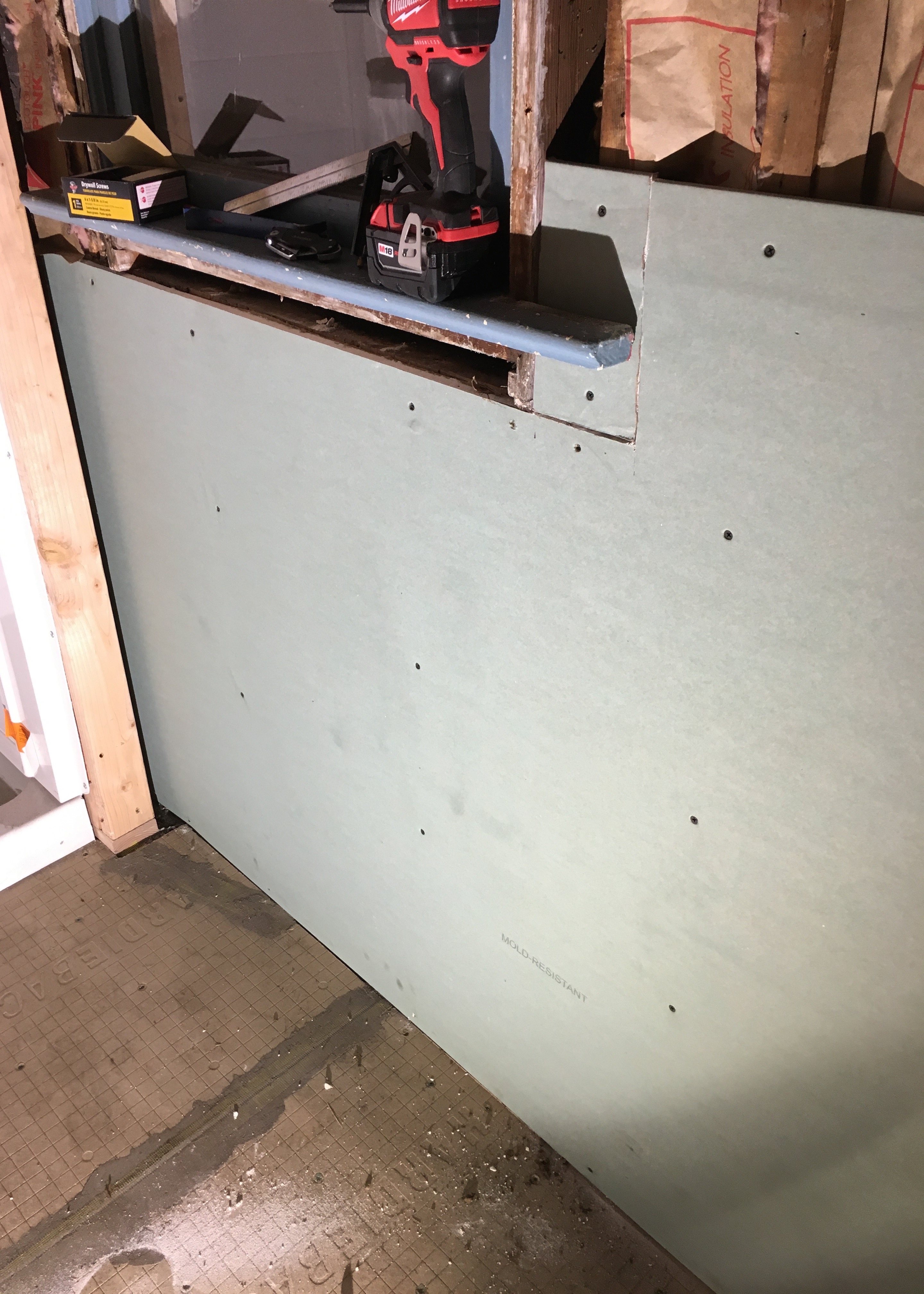 Berrybrier | Drywall First Piece
