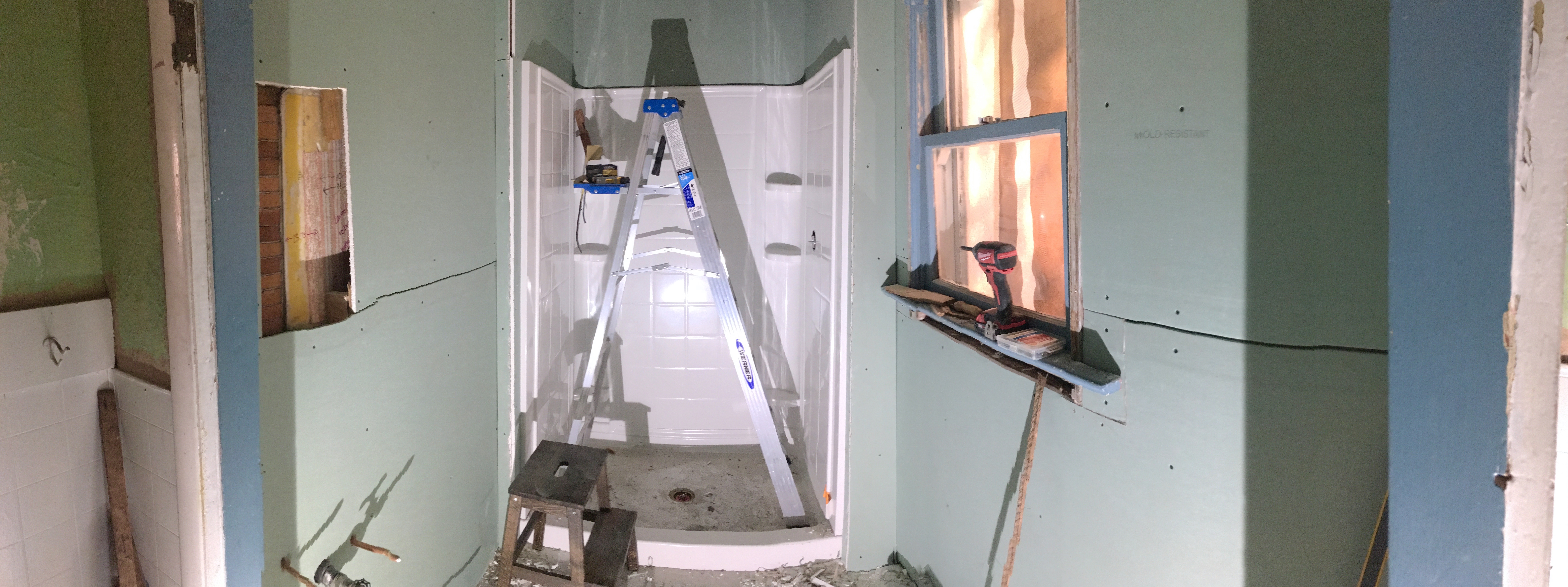 Berrybrier | Drywalled Bathroom