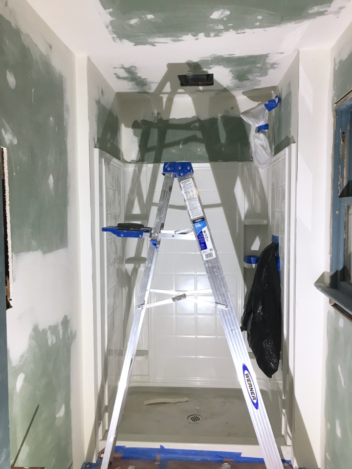 Installing Drywall in the Bathroom