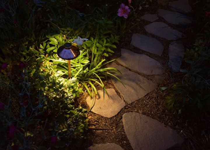 Adding Landscape Lighting (a.k.a Magic!) to the Cottage Garden with Kichler